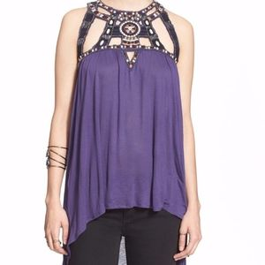 Free People | Boho Halter Top